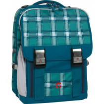 "Take-it-Easy Schulrucksack LONDON ""Ocean"" blau"