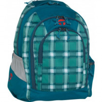 "Take-it-Easy Schulrucksack BERLIN ""Ocean"" blau"