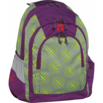 "Take-it-Easy Schulrucksack BERLIN ""Globe"" lila"
