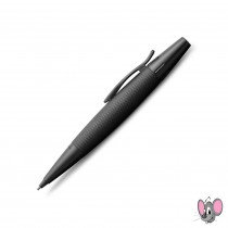 FABER-CASTELL Drehbleistift e-motion pure Black