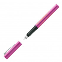 FABER-CASTELL Füllhalter Grip 2010 pink-orange