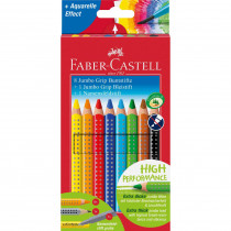 FABER-CASTELL Farbstift Jumbo GRIP Promotionetui 8+1+1