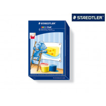 STAEDTLER Fingermalfarben Noris Club 6 Farben