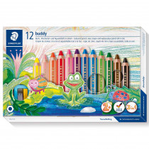 STAEDTLER Buntstift buddy 12er