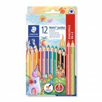 STAEDTLER Buntstift Noris jumbo 10+2
