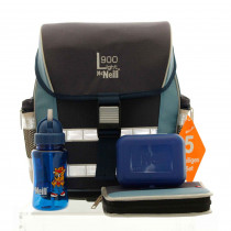 McNeill Schulranzen-Set ERGO Light 900 5-teilig Chip blue