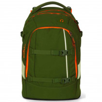 satch Pack Schulrucksack Green Phantom