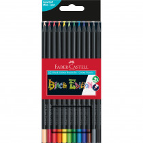 FABER-CASTELL Farbstift Black Edition 12er