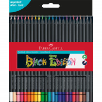 FABER-CASTELL Farbstift Black Edition 24er