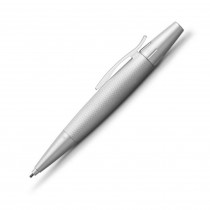 FABER-CASTELL Drehbleistift e-motion pure Silver 138676
