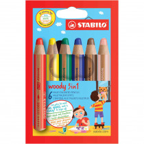 STABILO Farbstift woody 6er Etui