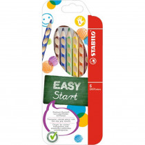STABILO Farbstift EASY colors Linkshänder 6er Etui