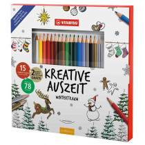 STABILO Kreative Auszeit Original Buntstift Winterzeit