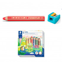 STAEDTLER Buntstift buddy 6er