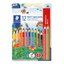 STAEDTLER Buntstift Noris super jumbo 10+2