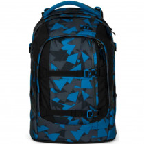 satch Pack Schulrucksack Blue Triangle
